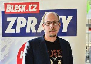 Debata Blesku v Hradci Králové: Lídr ČSSD Jiří Štěpán
