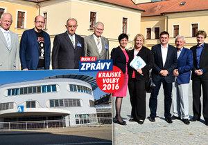 Krajští lídři v Hradci Králové řešili v debatě i zapeklitý miliardový tendr na náchodskou nemocnici.