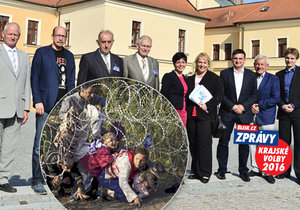 Kandidáti na Hradeckého hejtmana řešili problém migrace v předvolební debatě Blesku.