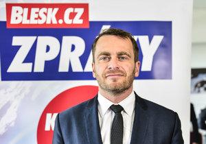 Jan Řehounek z ANO
