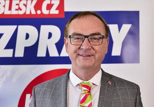 Roman Línek z Koalice pro Pardubický kraj (KDU-ČSL, SNK- ED a Nestraníků)
