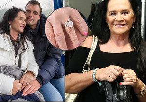 Hana Gregorová asi odložila růžové brýle a s nimi i zásnubní prsten od mladšího Ondřeje Koptíka.