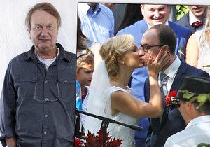 Dcera Jiřího Adamce Kristina se vdala, tatínka ale na svatbu nepozvala.