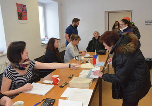 Problém ve Středočeském kraji: Volební lístky byly vytištěny chybně. (Ilustrační foto)