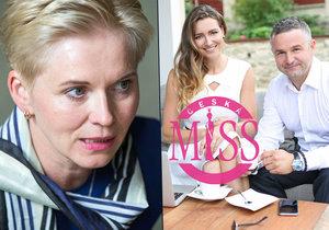 Marcela Krplová se ohání právníky s tím, že Evě Čerešňákové a jejímu partnerovi Českou Miss neprodala.