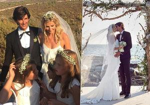 Tereza Maxová se prý vdala kvůli dceři.