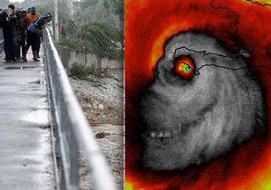 Hurikán Matthew je děsivý nejen ze Země, hrůzu pouští i z Vesmíru
