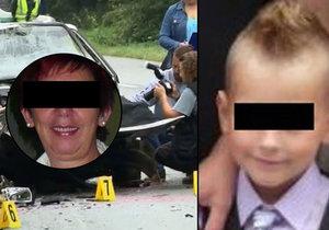 Šimonek (†9) zemřel při tragické nehodě: Vážně zraněné babičce ani po měsíci neřekli, že chlapec zemřel.