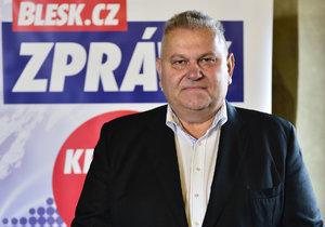 Hejtman Miloš Petera (ČSSD) chce obhájit ve volbách svůj post.