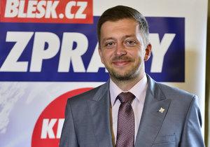 Vít Rakušan vede do voleb ve středních Čechách hnutí Starostové a nezávislí (STAN).