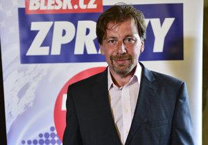 Petr Tiso, lékař a porodník, chce být středočeským hejtmanem za TOP 09.
