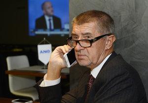 Andrej Babiš si stěžoval na odposlouchávání, podal i trestní oznámení.