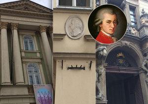Geniální skladatel Mozart za svůj život čtyřikrát navštívil Prahu.