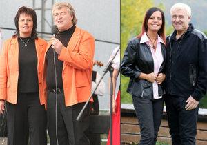 Pěvecké duo Eva a Vašek už je k nepoznání. Oba totiž zhubli 50 kilo. Jak se jim to podařilo?