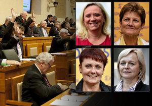 V Senátu nyní zasedne 16 žen, nejvíce v historii.