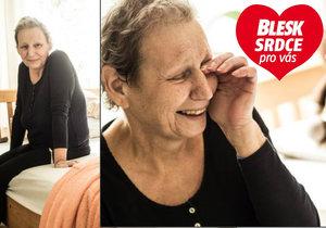 Jitka (60) z Prahy je nevyléčitelně nemocná: Za pár dní umřu,ale beru to s humorem