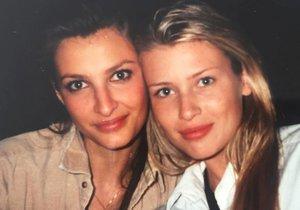 Tereza Maxová s Danielou Peštovou