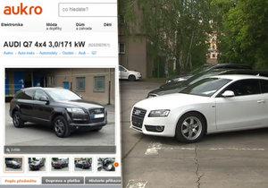 Mafiánská auta byla na aukci za babku: Prodávala se za vyvolávací cenu nebo vůbec.