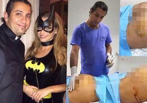 Plastický chirurg Yassine Ghazi fotil nevhodné snímky s pacientkami. Selfíčko má i s Andreou Verešovou.