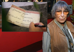 Hana Hegerová oslavila 85.