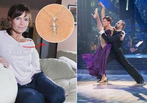 Šípková před každým tanečním večerem rozdýchává deprese! Pomáhá jí talisman.
