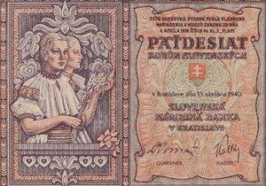 V aukci v Brně se prodala bankovka za 2,9 milionu Kč.