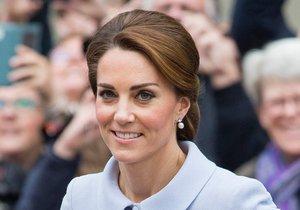 Vévodkyně Kate na veřejnosti