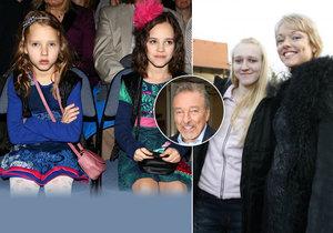 Oficiálně má Karel Gott čtyři dcery, kolik ale neoficiálně? Ani sám neví...