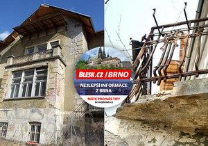 Nejohroženější památka Česka: Brno plánuje za 100 milionů opravit Arnoldovu vilu, kterou samo nechalo zchátrat