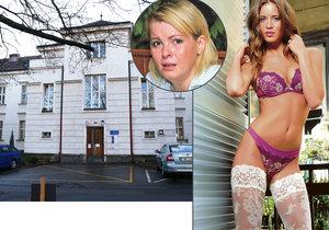 Miss Jandová se léčí v Bohnicích na oddělení pro nejtěžší případy, kde svého času pobývala i zpěvačka Iveta Bartošová.
