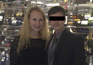 Katka Odehnalová (†24) s expřítelem Radúzem Šafránkem (23). Dívka byla zavražděna 8. března 2016 v arboretu brněnské Mendelovy univerzity. Z vraždy je obviněný její expřítel, který neunesl rozchod.