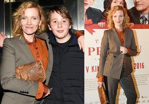 Aňa Geislerová ukázala syna, je jí velmi podobný!