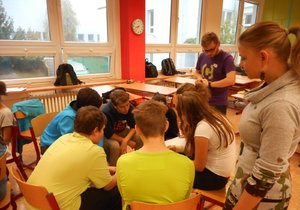 Děti se v michelských školách setkaly, aby konzultovaly své nápady.
