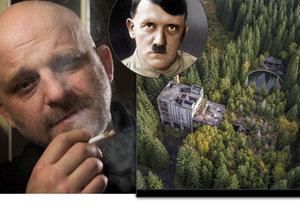 Důl Rolava v Krušných horách, kde měl Adolf Hitler zajatecký tábor a kde se natáčí i seriál ČT Rapl.