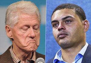 Danney Williams tvrdí, že jeho otcem je Bill Clinton a žádá testy DNA.