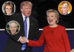 V USA o post prezidenta soupeří Donald Trump a Hillary Clintonová. Koho volily české celebrity s americkým občanstvím?