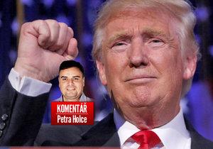 Petr Holec komentuje vítězství Donalda Trumpa.