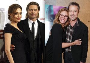 Brad Pitt už kvůli Angelině nesmutní.