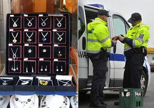 Celníci zadrželi padělané šperky za téměř třicet milionů. Pocházely z Asie. (Ilustrační foto)