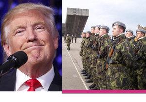 """Trump nechce pomáhat """"hříšníkům"""" NATO. Česko je mezi nimi..."""
