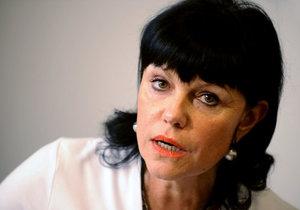 Senátorku Alenu Dernerovovou nepovažuje část Severočechů za svou kandidátku.