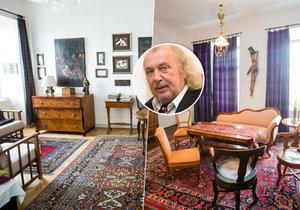 Takhle si žije akademický malíř Kristian Kodet.