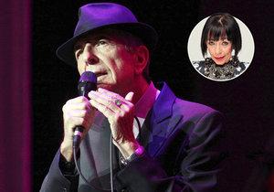 Františka vzpomíná na legendárního Leonarda Cohena.