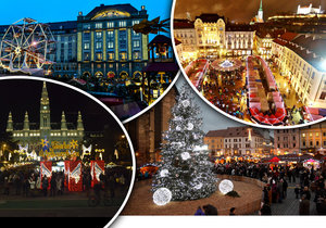 Vánoční trhy jsou tady.
