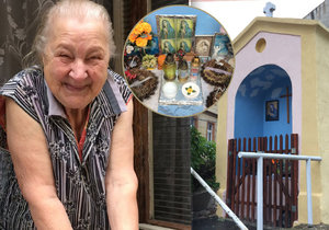 O kapličku se už 15 let stará Zdeňka Baranovská.