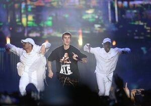Koncert Justina Biebera v Praze
