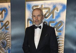 Moderátor Marek Eben