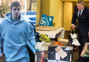 Justin Bieber opustil společně se svým haraburdím Českou republiku.