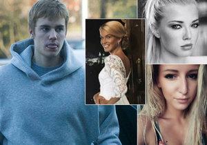 To jsou dívky, které trávily večer s Justinem Bieberem.