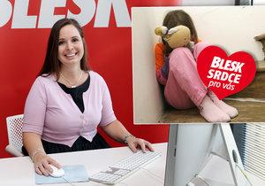 Petra Hackerová (35) z Dětského krizového centra: Týrání dětí oznamte i anonymně!